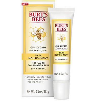 Burt's Bees 小蜜蜂 蜂王浆系列 保湿祛皱眼霜 14g71.68元(直邮低至80元)