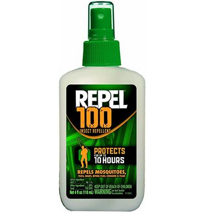 美亚销量第一,Repel 100 Insect Repellent 户外强效驱蚊水$7.97,直邮到手约合72元(直邮总共$10.56)