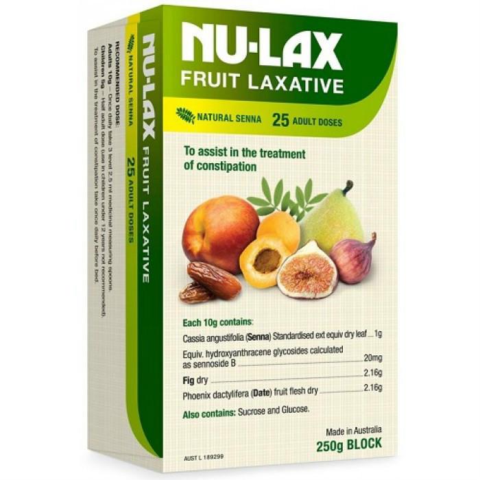 【满99澳减12澳!满116澳减20澳】Nulax天然膳食纤维乐康膏 250g