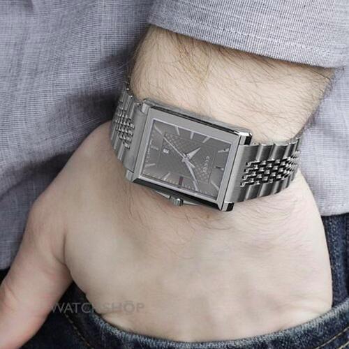 GUCCI 古驰 G-TIMELESS系列 YA138401 男士时装腕表 码后$325,约2145元
