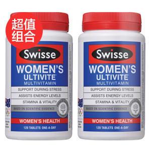【周年庆最后一波:满98澳立减15澳!】【超值组合】Swisse 女性多种维生素多矿物质抗氧化草本营