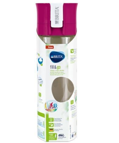 【荷兰DOD】用码2件即包邮:Brita 碧然德 随身滤水瓶 带滤芯(红色)600ml