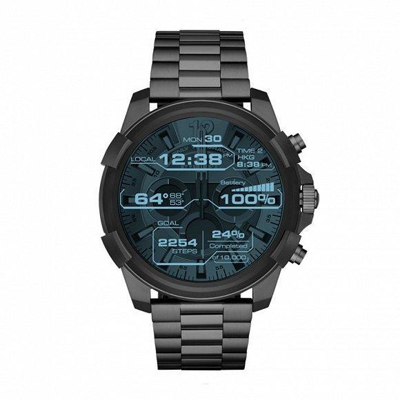 Diesel发布第一款触屏智能腕表