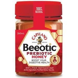 【全场满79澳立减8澳,肌肤护理专场满2件9折】Capilano Beeotic益生菌蜂蜜 260mL