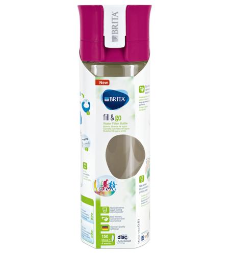 【荷兰DOD】新人注册享满减:Brita 碧然德 随身滤水瓶 带滤芯(粉红色)600ml