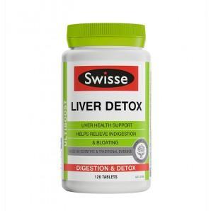 【新西兰KD】【保健专场】Swisse 护肝排毒片 120片 仅需NZ$20.59/约¥96