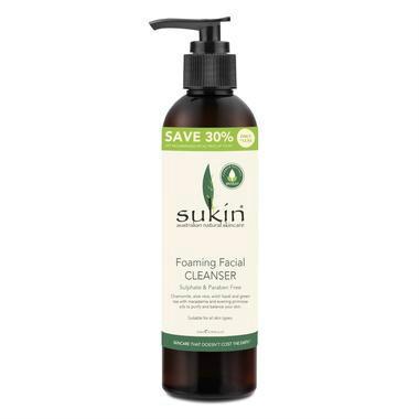 【澳洲PO药房】【超值特价】Sukin 天然植物泡沫洗面奶 250ml 超值装