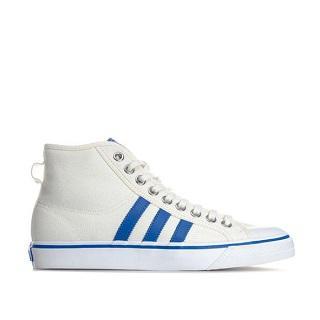 【GetTheLabel中文网】Adidas Originals NIZZA HI男款白色高帮鞋,5.7折报价为£39.99(约¥358)