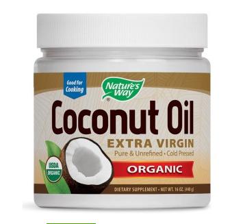 Nature's Way 天然有机冷榨椰子油454g 万用油 可食用 可护肤护法 可烹饪 折后$12.82,到手¥84