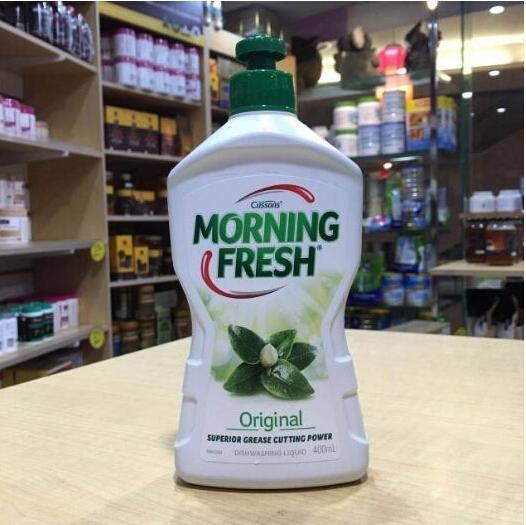 凑单品!Morning Fresh 超级浓缩多功能餐具水果蔬菜洗洁精(原味型)400ml 特价AU$1.99,约10元