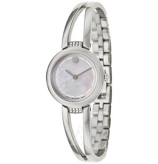 MOVADO摩凡陀AMOROSA系列女款时装腕表0606813 折后特价$249,转运约1710元(不含税)