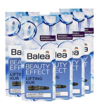 【德国DC】【5盒装】Balea 芭乐雅 浓缩玻尿酸精华液安瓶 7安瓶1ml 5盒