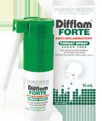 【满88澳免邮,限重3KG】Difflam 消炎喉咙喷雾 15ml