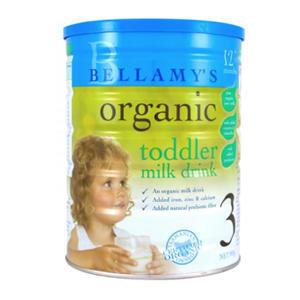 【全场满79澳立减8澳,满108澳立减12澳】Bellamy& 039s 贝拉米 有机婴幼儿奶粉3段 900g