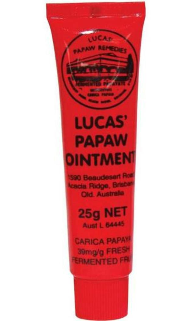 【澳洲CD药房】Lucas Papaw Ointment 天然神奇番木瓜膏万用膏 25g