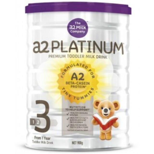 【澳洲CD药房】A2 白金系列婴幼儿配方奶粉 (3段)1岁+900g