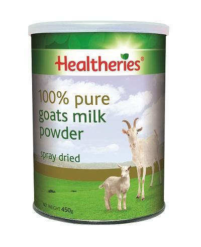 【新西兰PD】【爆款】Healtheries 贺寿利 100%纯羊奶粉 450g 仅需NZ$26 75 约¥127