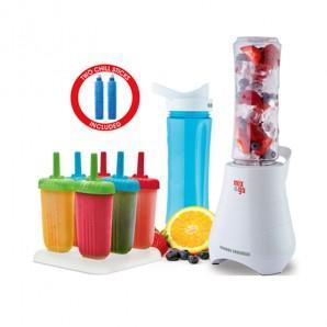 【新西兰KD】【单件包邮】Mix&ampgo 便携婴儿辅食搅拌机榨汁机 送6支冰棒制作器 新版 NZ$40 86 约¥194