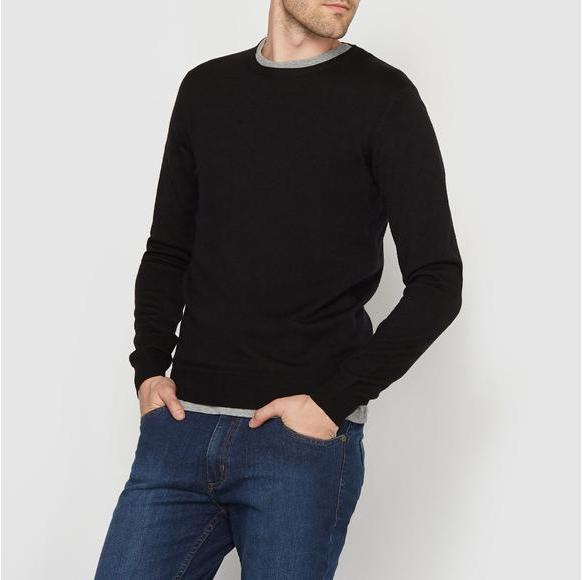 【法国LR】2件包邮:R essentiel 美利奴纯羊毛针织衫每件到手仅需257元!