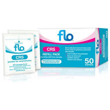 【澳洲PO药房】【一周特价】Flo 洗鼻专用预混粉包 507.7g/包