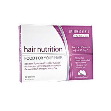 【澳洲PO药房】Hairdresser&#039s Formula 头发营养胶囊 30片 (强健发质 女性)