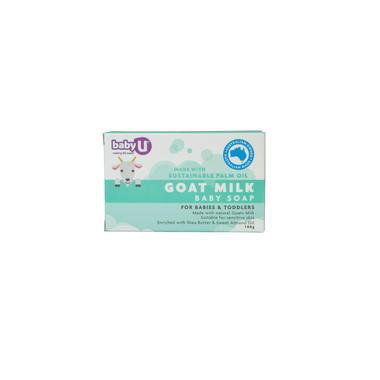 【澳洲PO药房】【活动满减】BabyU 羊奶婴儿皂 100g (温和、清洁)