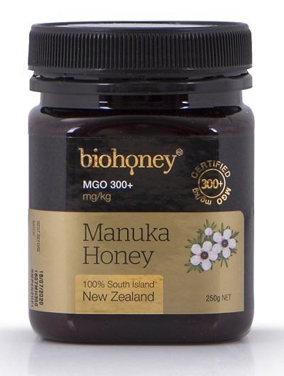 【新西兰PD】【爆款】Biohoney 麦卢卡蜂蜜 MGO300+ 250g NZ$29.5/约¥136