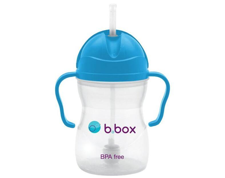 B.box 婴幼儿重力球吸管杯 防漏 240ml 深蓝色 (6个月以上)  商品价格:72元