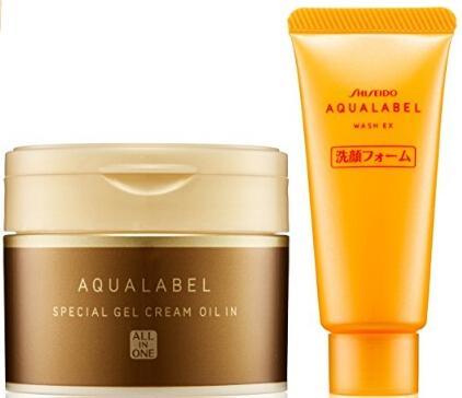 2017新品 资生堂水之印 五合一金色版面霜90g+洗面奶小样20g 返点后好价2020日元,约¥121