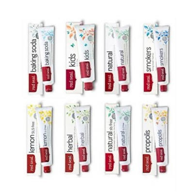 【新西兰PD】【8支包邮装】Red Seal 红印 牙膏套装 NZ$36 7 约¥170