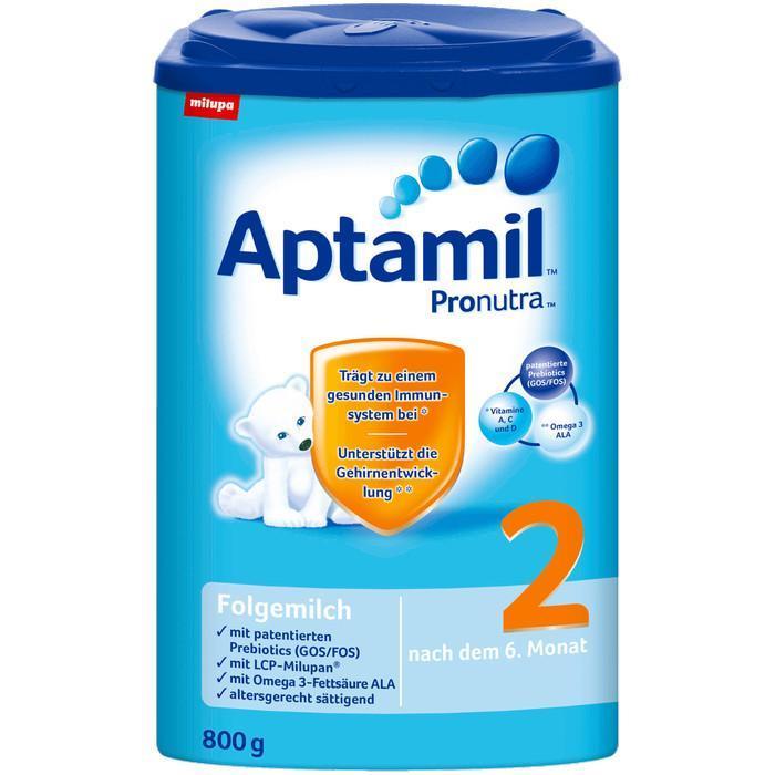 【德国VicNic百货】闪购 - Aptamil爱他美2 Pronutra婴儿配方奶粉 800克