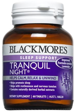 【新西兰PD】【凑单】Blackmores 澳佳宝 改善睡眠压力片 60片 NZ$13.2/约¥61