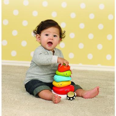 【美国Babyhaven】Infantino 婴蒂诺 有趣笑脸环形层层叠