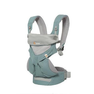 【美国Babyhaven】美国Ergobaby360全方位婴儿透气款背袋抱带-薄荷绿
