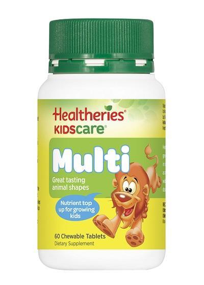 【新西兰PD】【品牌两件9折】Healtheries 贺寿利 儿童成长营养咀嚼片 60片 NZ$10.3/约¥47