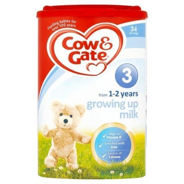 【奶粉满减】Cow &amp Gate 牛栏 幼儿配方奶粉3段 (1-2岁幼儿)900g