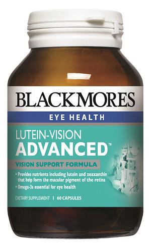 【新西兰PD】【爆款】Blackmores 澳佳宝 叶黄素护眼胶囊(加强型)60粒 NZ$28.45/约¥130