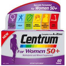 【新西兰PD】【爆款】Centrum 善存 50岁以上女士复合维生素片 60片 NZ$19.4/约¥89