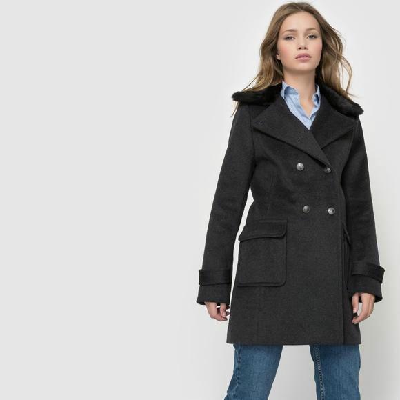 【法国LR】55抵99:R essentiel女士排扣大衣折后特价仅需501元!