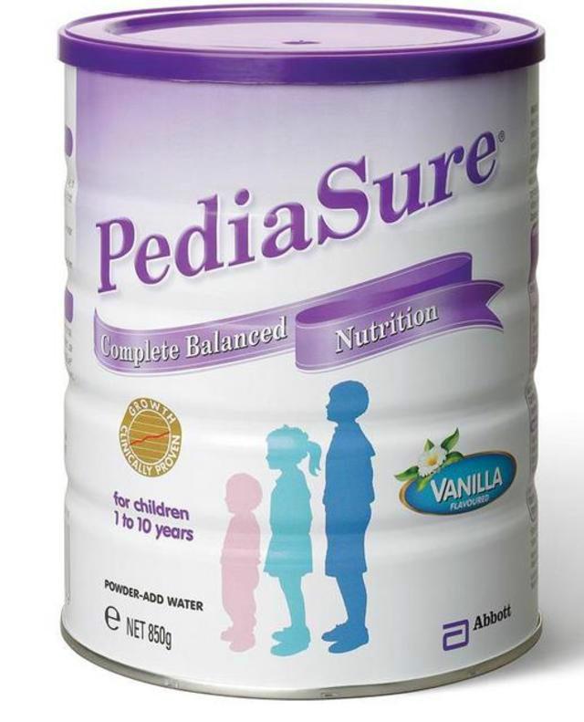 【澳洲CD药房】PediaSure 雅培 小安素儿童营养奶粉(香草味/助1-10岁孩子长高)850g