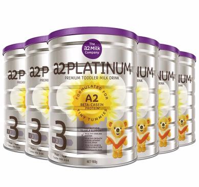 【现货 包邮包税】A2 Platinum白金系列婴幼儿奶粉三段 900g6罐 包邮