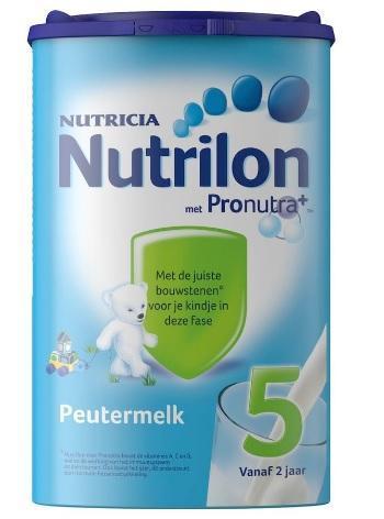 【荷兰DOD】用码满78欧减5欧:Nutrilon 牛栏 婴幼儿5段成长配方奶粉 800g