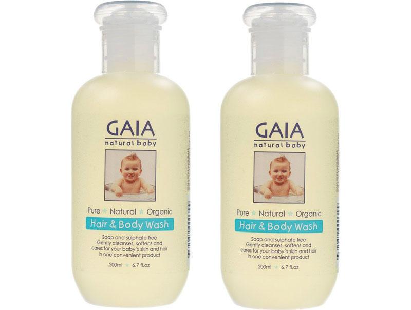 【2件包邮装】Gaia 纯天然婴儿洗发沐浴露2合1 2200ml/瓶 商品价格:119元·