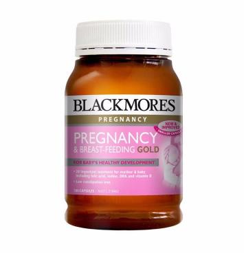 【满78纽免邮】Blackmores 澳佳宝 孕期综合黄金营养素 180粒