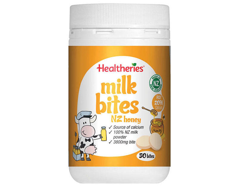 推荐商品:Healtheries 贺寿利 高钙牛奶片 儿童/成人补钙 50片(蜂蜜味) 商品价格:45元