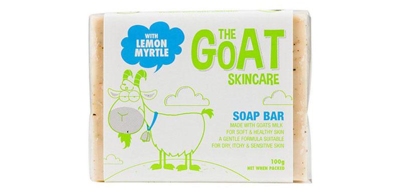 推荐商品:HThe Goat Skincare 纯手工山羊奶皂 100g(柠檬香桃) 商品价格:22元