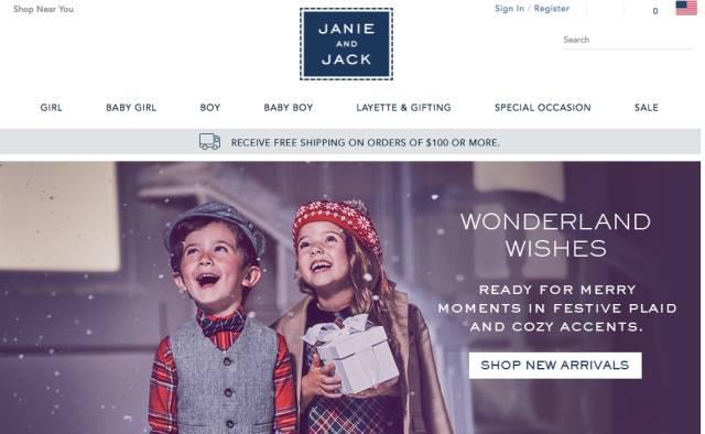 Janie and Jack官网海淘攻略 美国Janie and Jack购物指南