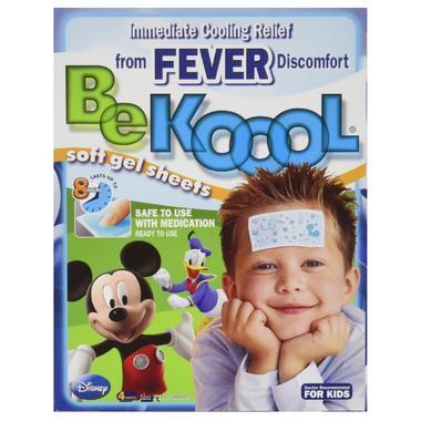 【美国Babyhaven】【最高减11美金】Be Koool 宝宝退热贴 4片装 发烧物理降温家庭必备