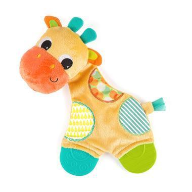 【美国Babyhaven】【最高减11美金】Bright Starts 长颈鹿牙胶毛绒玩具