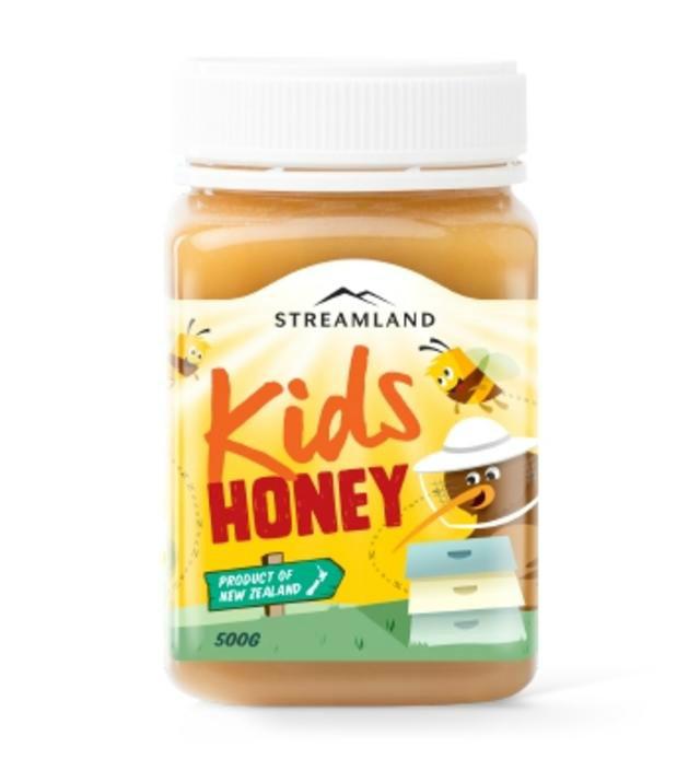 【澳洲CD药房】Streamland 天然儿童蜂蜜 500g